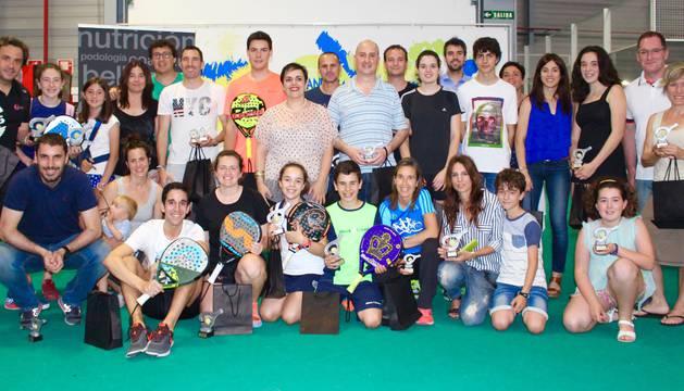 Participantes en el campeonato.