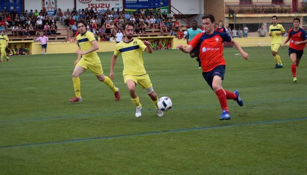 La Guardia Civil interviene por incidentes en un partido de fútbol de juveniles en Lodosa