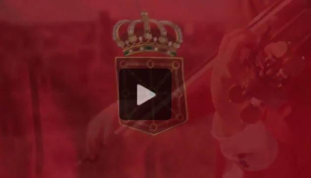 Vídeo bandera de Navarra.