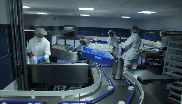 Imagen de las cocinas del CHN.