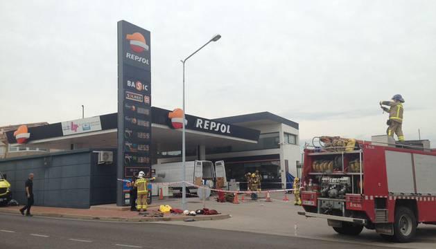 La gasolinera donde se ha producido el suceso