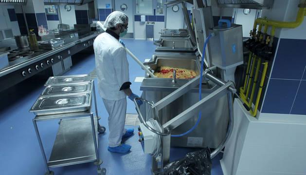 Imagen de las cocinas del Complejo Hospitalario.