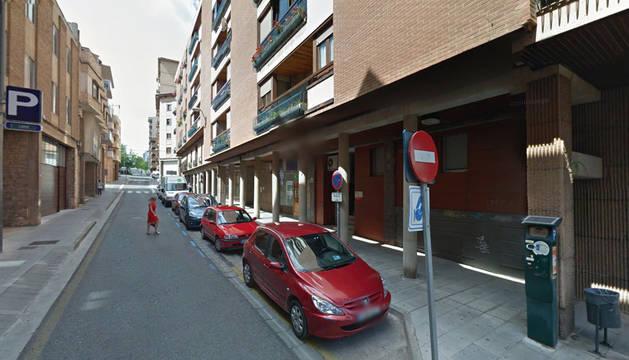 Imagen de la calle calle Ugarte Doña María, donde tuvieron lugar los hechos.