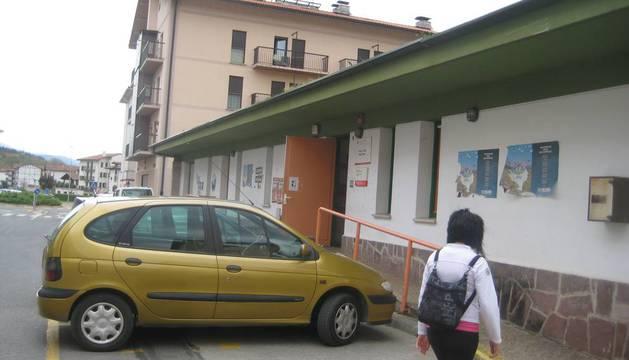 En la imagen de archivo, aspecto parcial del actual Centro de Salud de Santesteban.