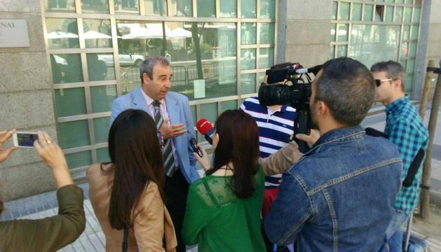 Antonio Alberca, abogado de la acusación Justitia et Veritas.