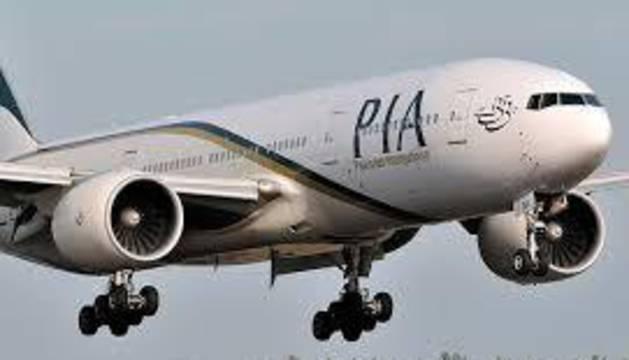 Un avión de la aerolínea paquistaní