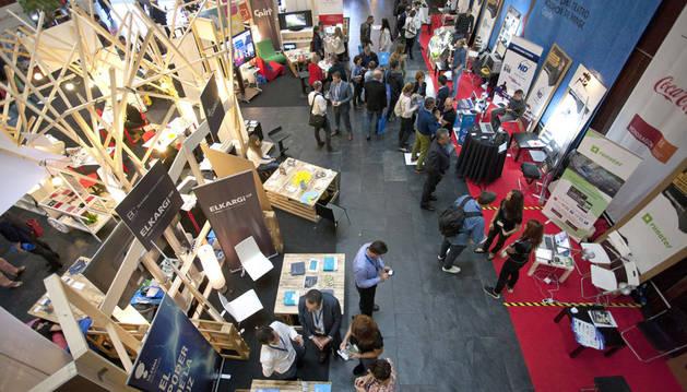 foto de Feria de la Innovación y el Emprendimiento de la anterior edición de Pamplona Innovaction Week.