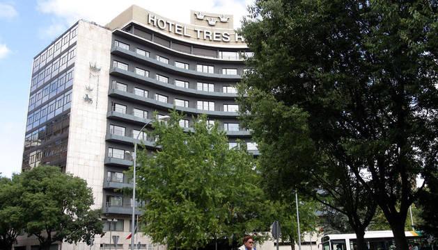 foto del Hotel Tres Reyes de Pamplona.