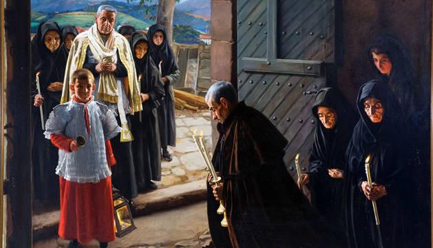 'Un Viático en el Baztan', de Javier Ciga.
