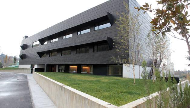foto del Hotel Muga de Beloso de Pamplona.