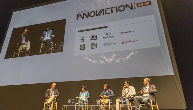 foto Una charla de la anterior edición de Pamplona Innovaction Week