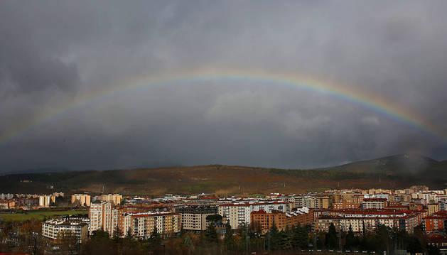 Imagen de vista genérica de Burlada.