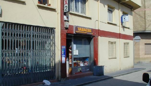 Administración de lotería de San Adrián en la que fue sellado el boleto.