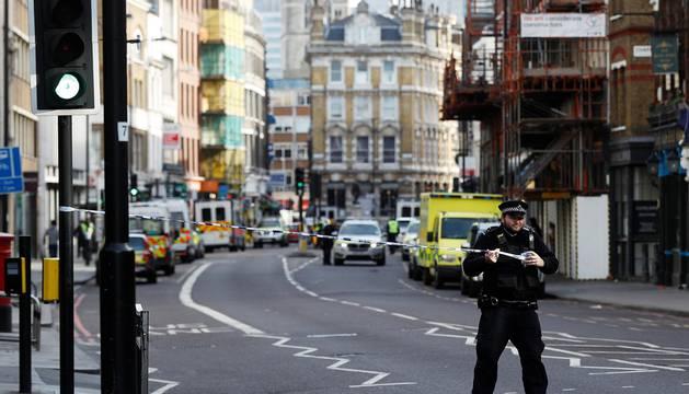 Ataques perpetrados en el puente de Londres y el mercado de Borough