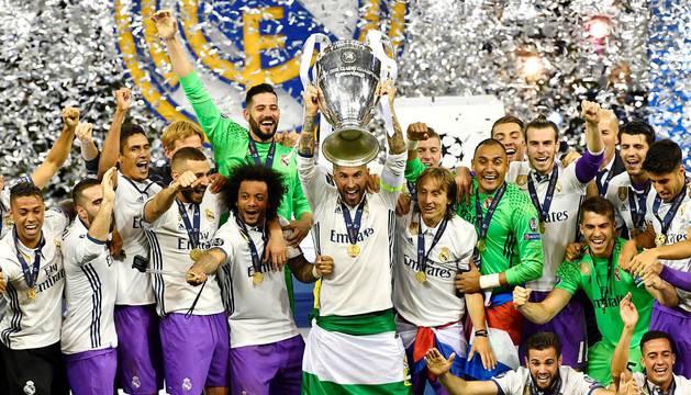 El Real Madrid hace historia en la Champions