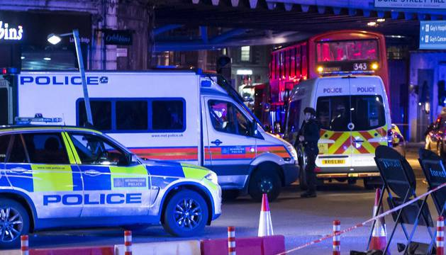 El terrorismo azota de nuevo al Reino Unido, con 6 muertos y 3 terroristas abatidos