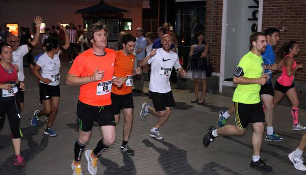 Participantes en la pasada edición de los 10 kilómetros de Tudela.