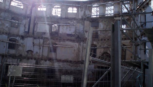 Casa Recari de Aoiz, que según el fiscal dos empresarios regalaron al acusado.