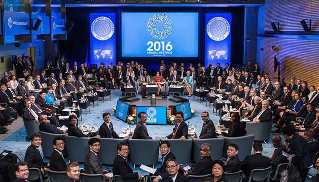La ultima reunión anual del Banco Mundial en 2016