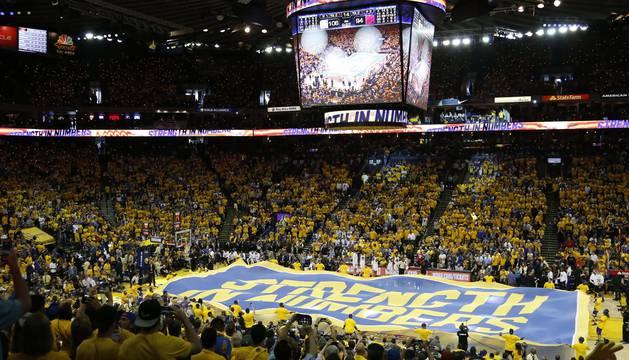 El aspecto del pabellón de los Golden State Warriors