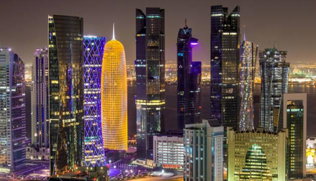 Vista de Doha, la capital de Qatar.