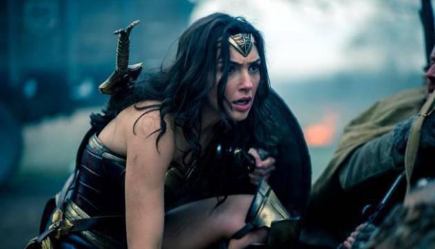 Imagen promocional de 'Wonder Woman'.