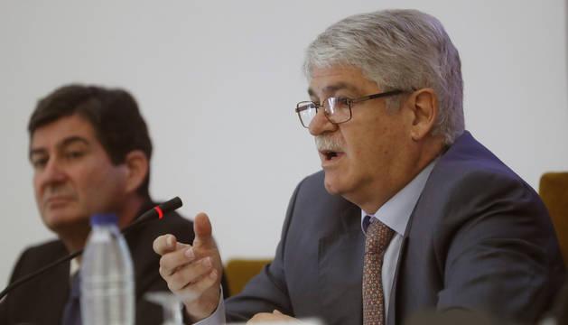 Alfonso Dastis se pronunció al respecto tras dar una ponencia en un seminario de conflictos