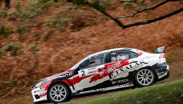 Joseba Beola, en una carrera anterior.