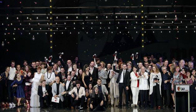 'Oskara' y 'Caída del cielo', se reparten los premios en una gala de los Max reivindicativa