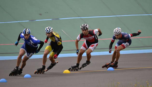 Medallas de Leyre Molina, Ander Chamorro y Unai Villalobos en el Campeonato de España infantil y juvenil