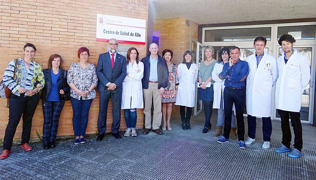 Cuatro centros de salud del área de Estella tendrán ecógrafo en septiembre