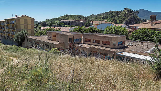 La vieja guardería Izarra reabrirá el nuevo curso tras un verano en obras