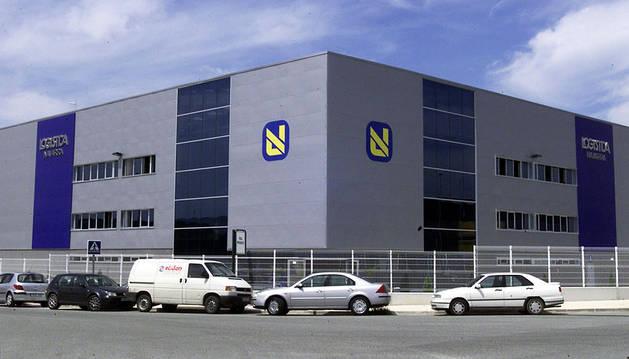 Instalaciones de ID Logistics en el polígono de Arazuri-Orkoien.