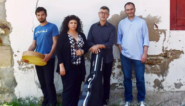 Bidaia presenta 'Hitza' este próximo jueves en el Patio de los Gigantes