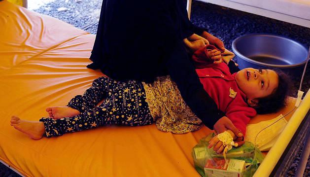 La epidemia de cólera en Yemen ha provocado en 40 días casi 750 muertos