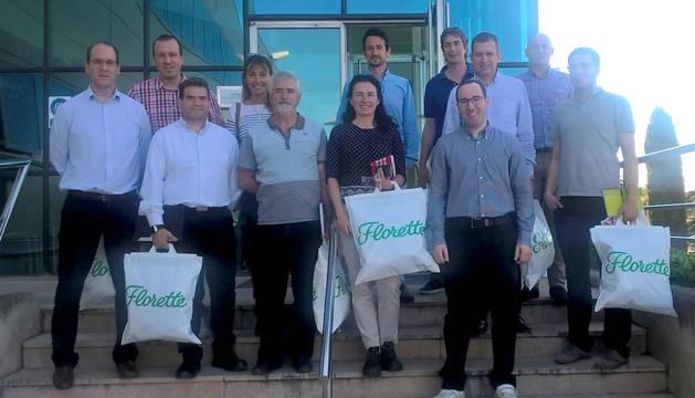 foto de los Participantes en la Mesa de Mejora Continua celebrada en Florette.