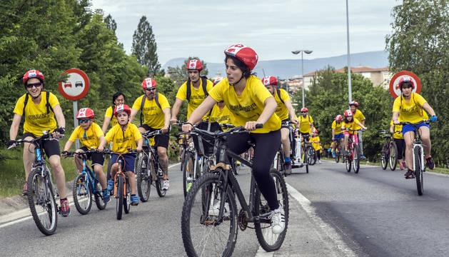 El 'Día de la Bicicleta' en una edición anterior