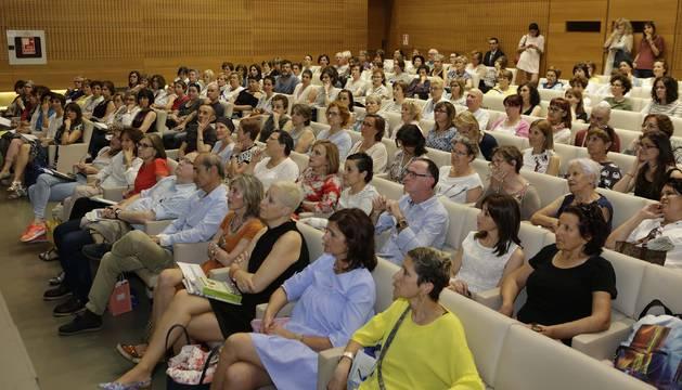 Los asistentes al acto en Civican