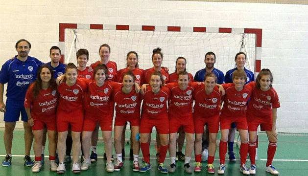 El Lacturale Orvina disputa hoy en Cádiz el partido de ida de la fase de ascenso a Primera División.
