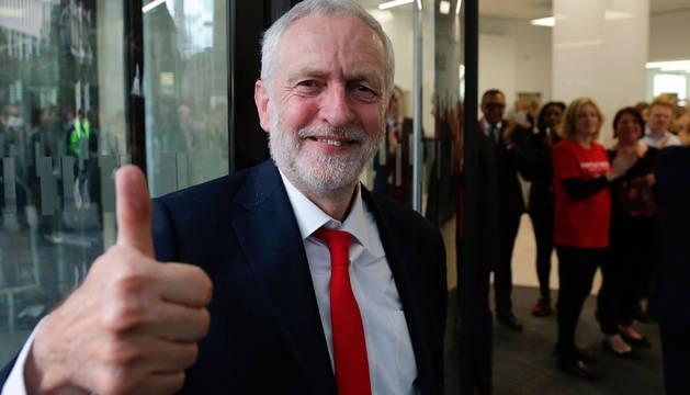 Corbyn dice que el Laborismo está