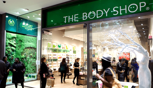 Una tienda de The Body Shop