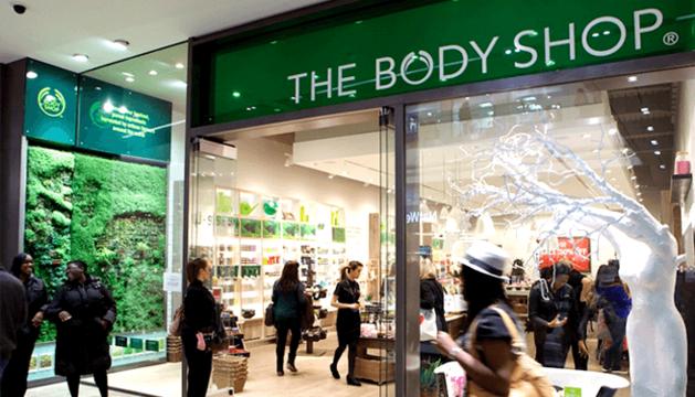 Una tienda de The Body Shop
