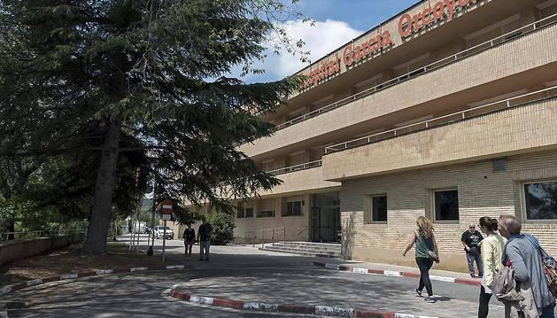 La nueva CMA ocupará el ala situada a la izquierda de la entrada principal del edificio viejo del hospital.