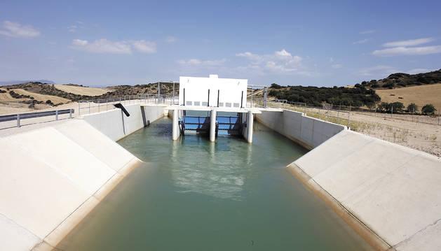 Canal de Navarra.