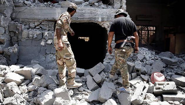 Fuerzas iraquíes recuperan un barrio en Mosul y matan a 71 yihadistas del Estado Islámico