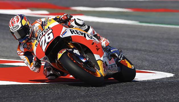 'Pole' para Pedrosa en un GP de Catalunya accidentado para Márquez