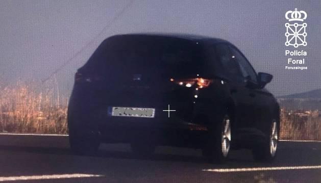 'Cazado' un conductor en Tudela a 199 km/h que dio positivo en cocaína