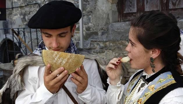 Fotos del Día del queso del Roncal