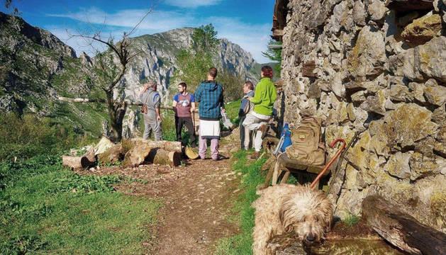 La escuela de pastores en los Picos de Europa