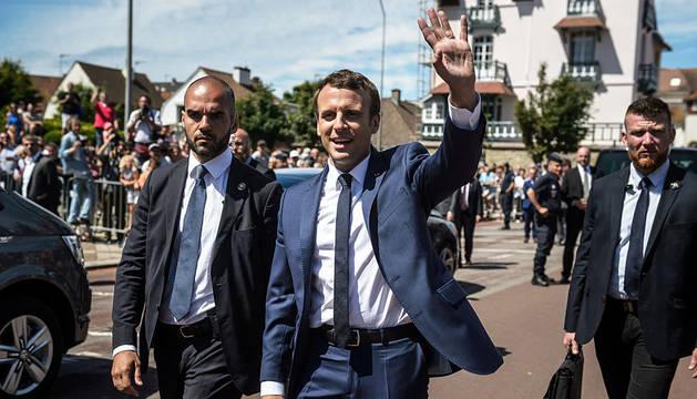 El partido de Macron gana la primera vuelta de las legislativas francesas